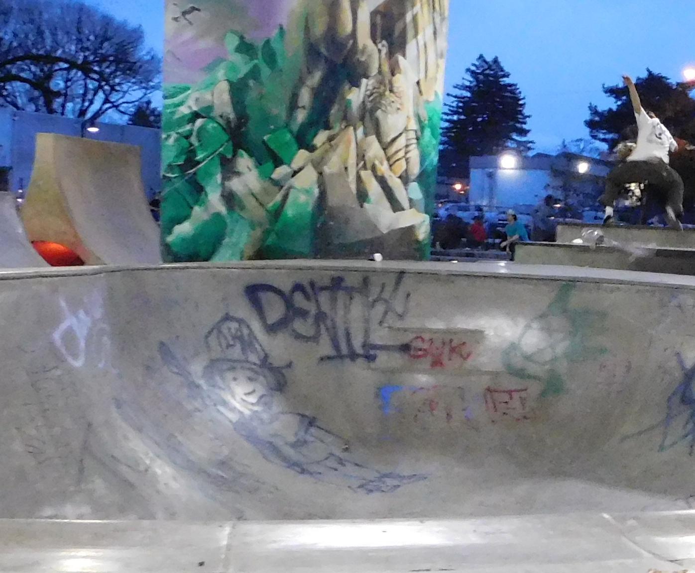 Sirag, Mary-Minn--Jefferson Skate Park Bowl - Autism Artism 2017