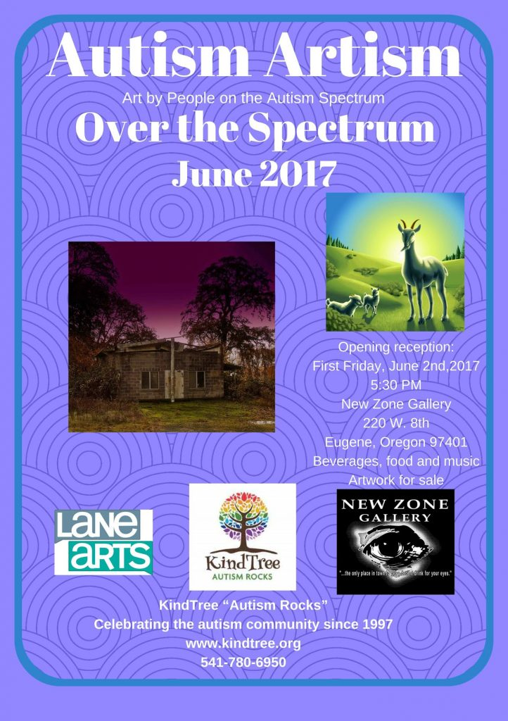 "Autism Artism 2017 ""Over The Spectrum"" First Friday Art Walk @ New Zone Gallery"