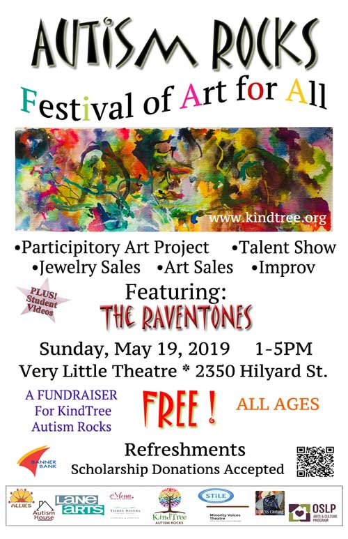 Autism Rocks: A Festival of Art for All @ Very Little Theater | Eugene | Oregon | United States
