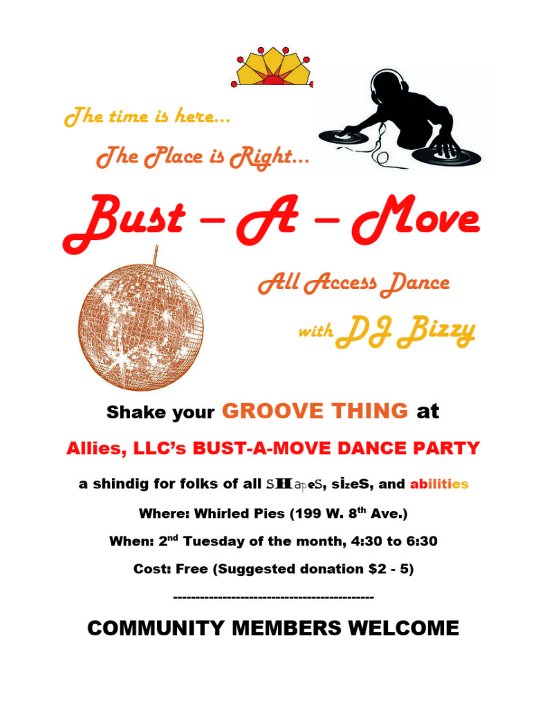 Bust - A - Move from Allies @ Whirled Pies | Eugene | Oregon | United States